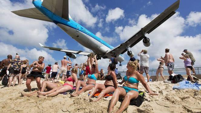 strandvliegtuig